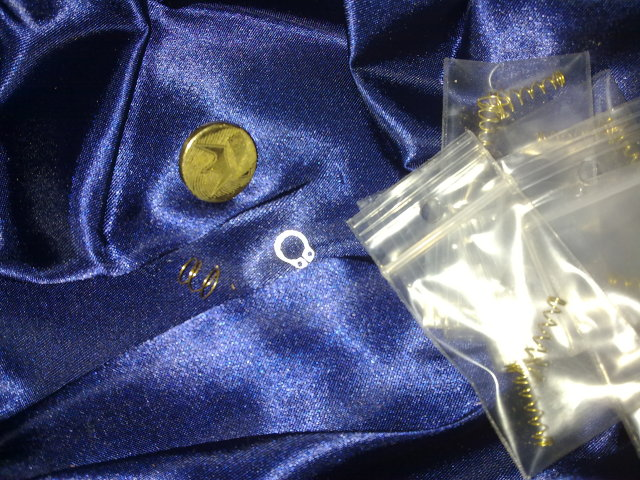 Brass button set for GUS telescopic V 2